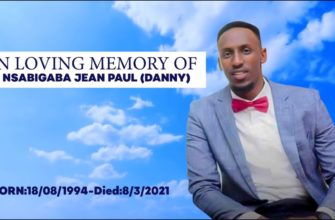 NSABIGABA JEAN PAUL (DANNY ) DOCUMENTARY  FILM