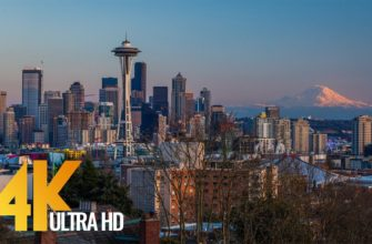 Seattle - The Emerald City - 4K Documentary Film with City Views & Relaxaing Music - Part 1